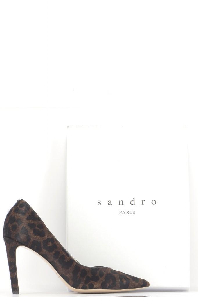 Chaussures Escarpins SANDRO MARRON