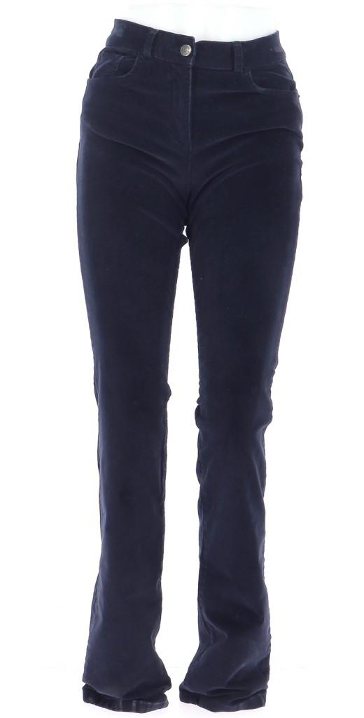 Vetements Pantalon CAROLL BLEU MARINE