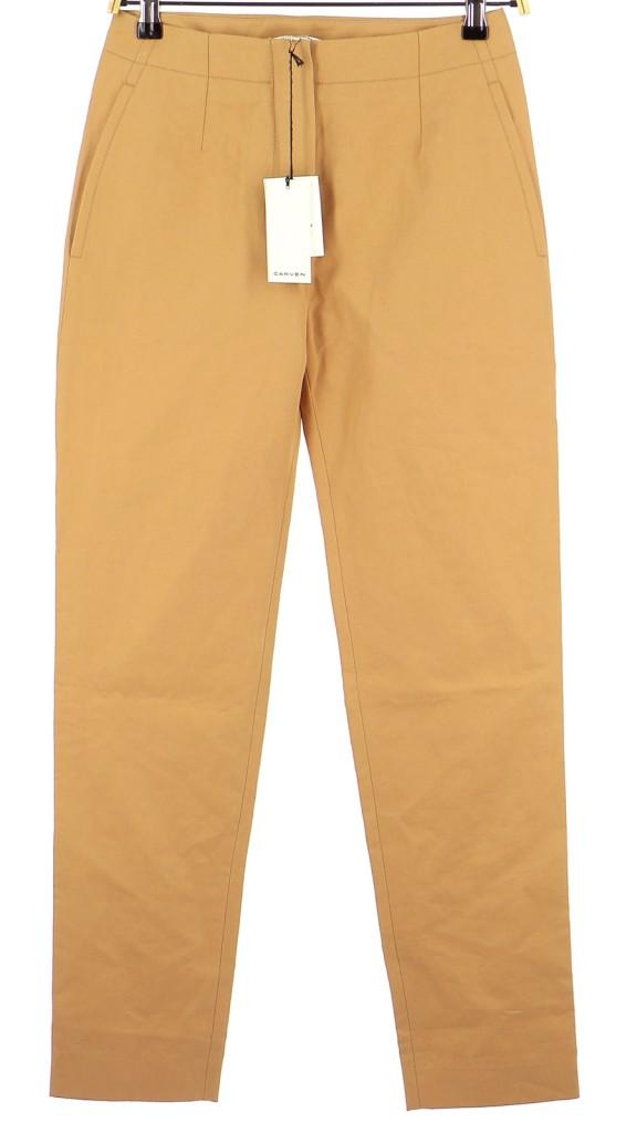 Vetements Pantalon CARVEN OR