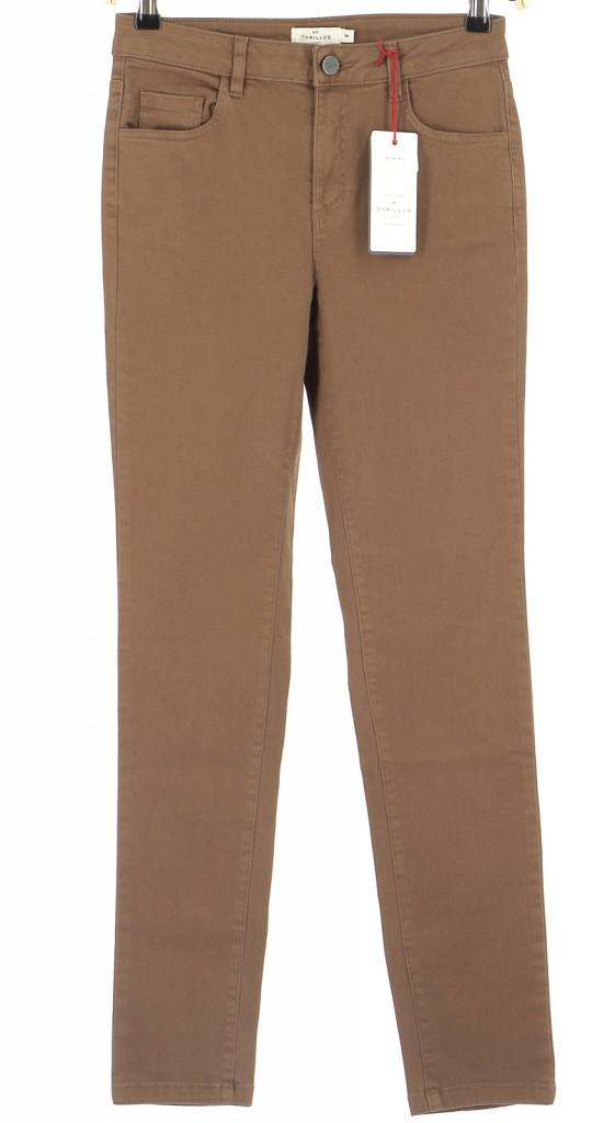 Vetements Pantalon CYRILLUS MARRON
