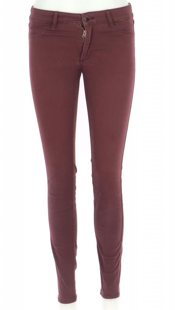 Vetements Pantalon ABERCROMBIE BORDEAUX