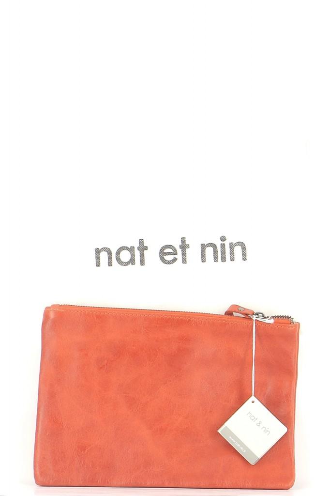 Sacs Pochette NAT & NIN ORANGE