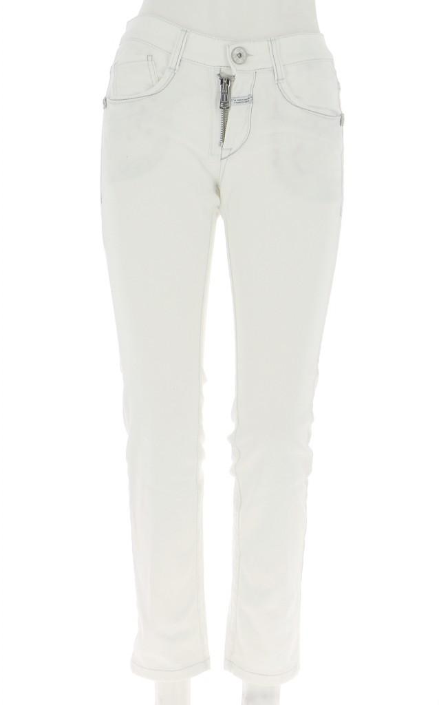 Vetements Pantalon MARITHE ET FRANCOIS GIRBAUD BLANC