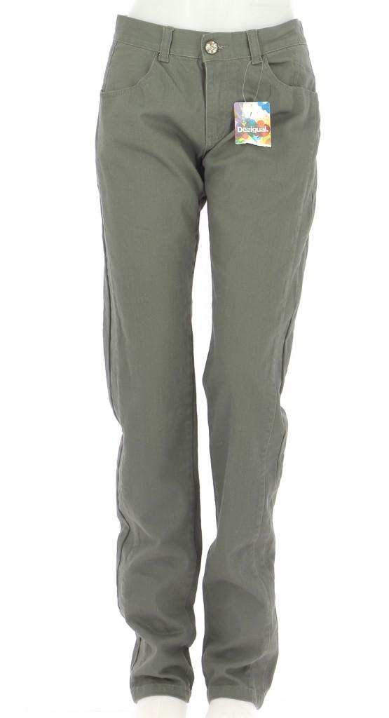 Vetements Pantalon DESIGUAL KAKI