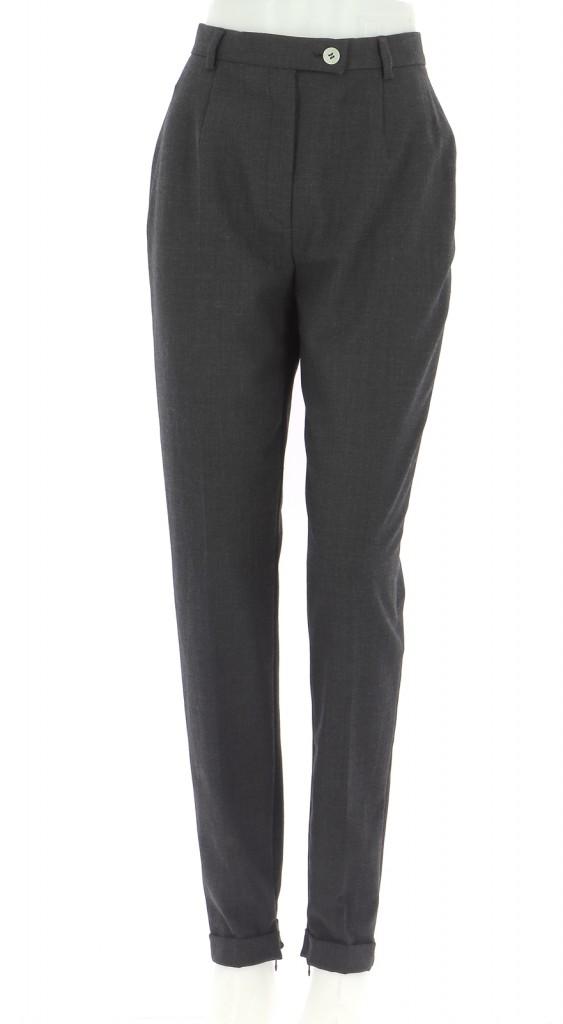 Vetements Pantalon BETTY BARCLAY GRIS