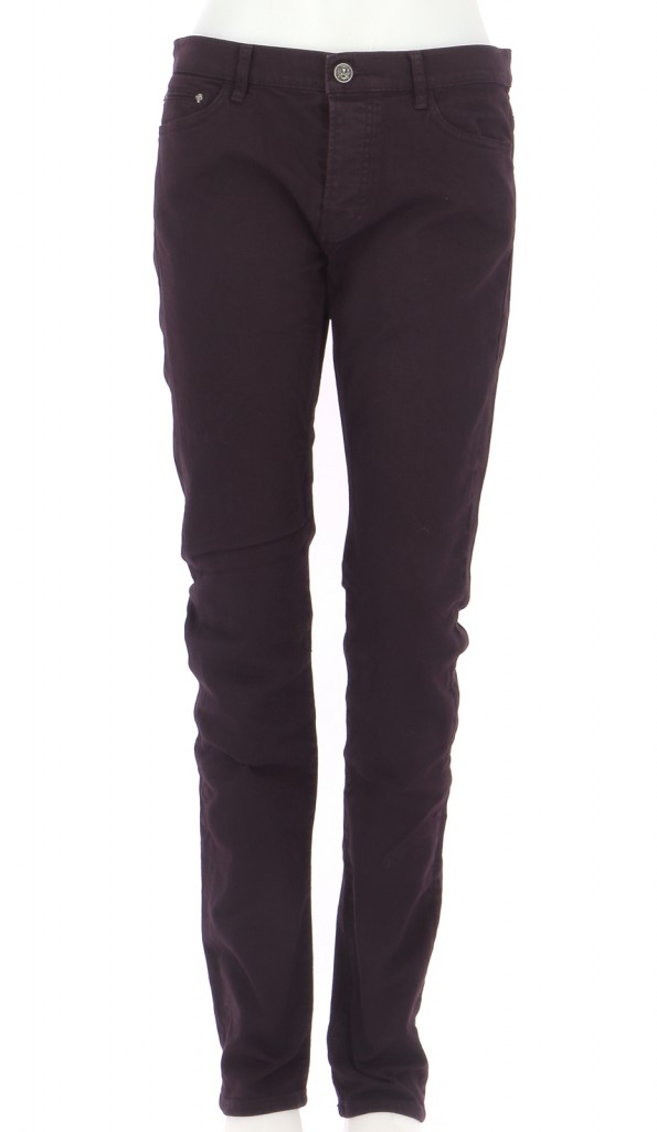 Vetements Jeans THE KOOPLES BORDEAUX