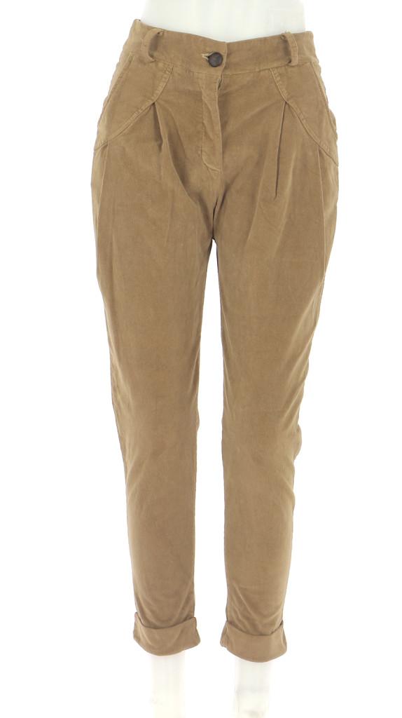Vetements Pantalon LA FEE MARABOUTEE MARRON