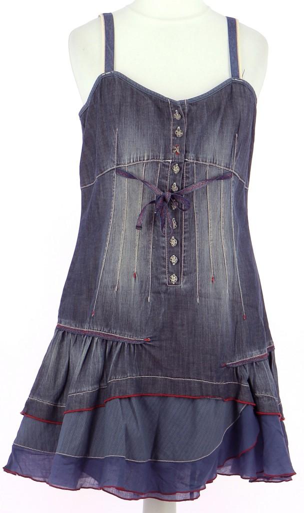 Vetements Robe INDIES BLEU MARINE