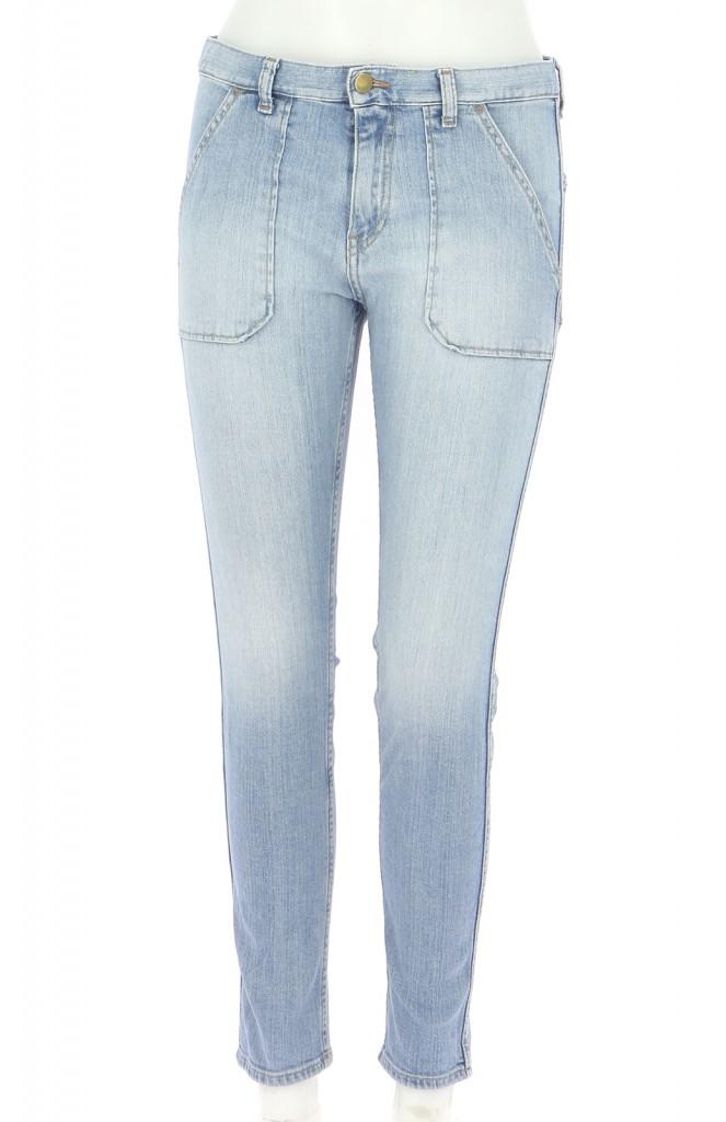 Vetements Jeans BA&SH BLEU CLAIR