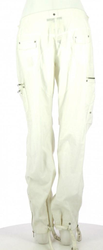 Vetements Pantalon GAETANO NAVARRA BLANC
