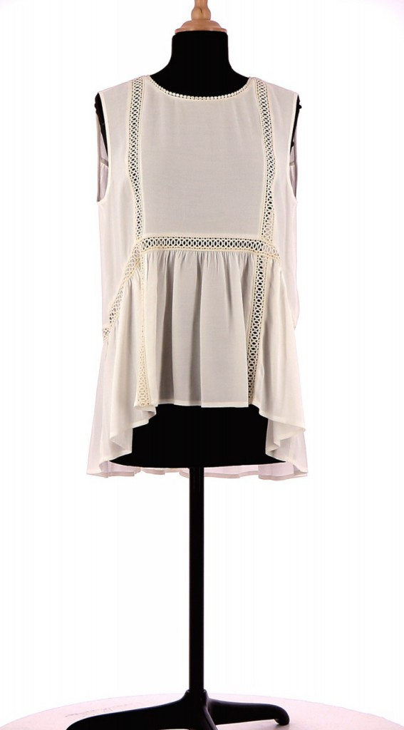 Vetements Top BERENICE BLANC