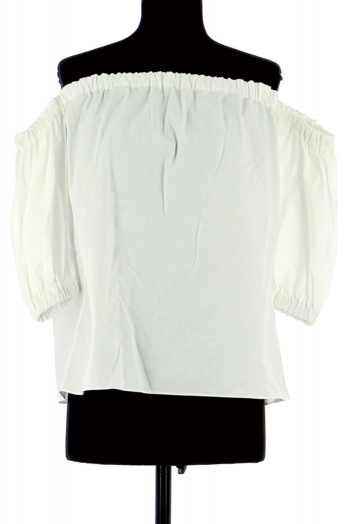 Vetements Blouse MAJE BLANC