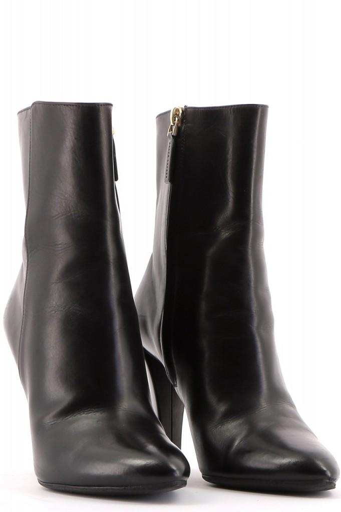 Chaussures Bottines / Low Boots RALPH LAUREN NOIR